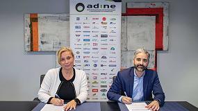 Foto de Adine y Aenor firman un acuerdo para fomentar la formación de sus asociados