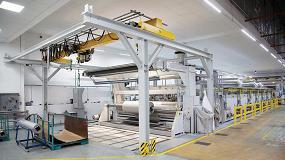 Foto de Brückner desarrolla una innovadora línea incluyendo una rame de última generación para Rökona