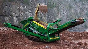 Foto de Sinderya presentará en Smopyc 2020 los últimos equipos de trituración y cribado de McCloskey