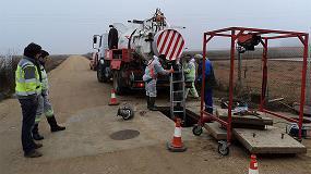 Foto de Acciona lleva a cabo la limpieza y desinfección de los depósitos municipales de agua en Toro (Zamora)