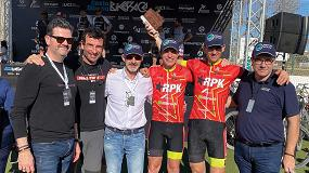 Foto de Gran actuación del equipo RPK Interempresas en la Costa Blanca Bike Race
