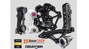 Foto de AsorCAD renueva su acuerdo de distribución en exclusiva para España de los productos Creaform