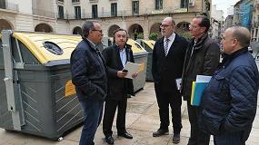 Foto de El Ayuntamiento de Alicante incrementa en 200 unidades su parque de contenedores amarillos