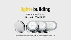 Foto de ATP Iluminación acudirá a la feria internacional Light+Building 2020 y presentará su nuevo catálogo general de alumbrado exterior LED