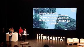 Foto de El CGATE recibe un premio Life Hábitat por su labor de difusión para la mejora de la salud y el bienestar de las personas en los edificios