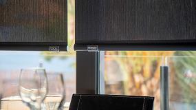 Foto de B-screen de Persax en un restaurante de Alicante