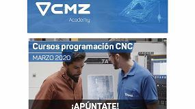 Foto de CMZ Academy pone en marcha una serie de cursos presenciales de programación CNC