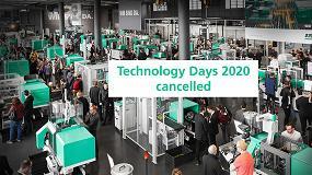 Foto de Arburg cancela sus Technology Days 2020