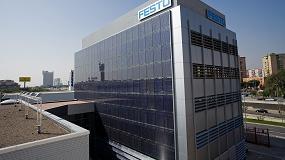 Foto de Festo prevé reducir su coste energético un 27% con 300 placas fotovoltaicas