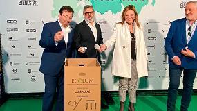 Foto de Ecolum Recyclia, protagonista del Congreso del Bienestar celebrado en Plasencia