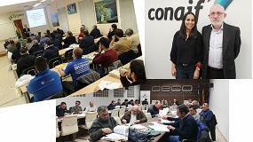 Foto de Éxito de convocatoria de las jornadas sobre el nuevo RSIF organizado por Conaif junto con Vaillant y Saunier Duval