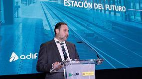 Foto de Ábalos afirma que la estación de Chamartín será paradigma europeo de estación sostenible, conectada y lugar de convivencia