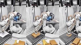Foto de Robots de ABB con inteligencia artificial de Covariant en logística