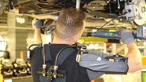 Foto de Rubix suma los exoesqueletos a su oferta para reducir lesiones y mejorar el bienestar de los operarios