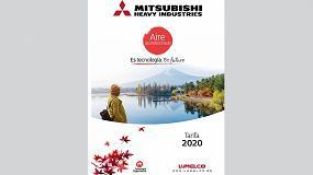 Foto de Nueva tarifa de Mitsubishi Heavy Industries 2020