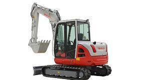 Foto de Huppenkothen expone en Smopyc 2020 la nueva excavadora de 7 toneladas de Takeuchi