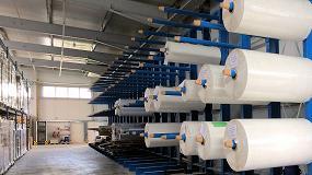 Foto de Estanterías de paletización y cantiléver para rollos de papel y medios de impresión
