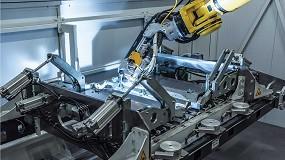 Foto de La soldadura robotizada LaserHybrid de Fronius ofrece grandes prestaciones con el aluminio extrusionado