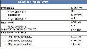 Foto de Las exportaciones de frutas y hortalizas facturan 13.407 M€ en 2019