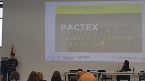Foto de La AEI Tèxtils presenta las iniciativas en sostenibilidad y economía circular impulsadas por el clúster