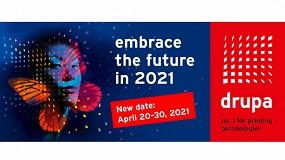 Foto de Drupa pospone su edición de este año a abril de 2021