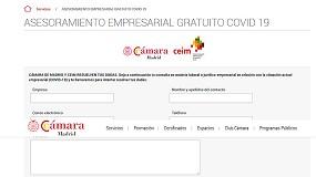 Foto de CEIM y Cámara de Madrid habilitan una línea telefónica de asesoramiento laboral para empresas sobre cómo actuar ante el COVID19