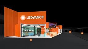 Foto de Ledvance recrea virtualmente su stand de Ligth+Building 2020 tras el aplazamiento