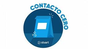 Foto de Stuart aplica el 'Contacto Cero' en sus entregas para evitar la propagación del Coronavirus