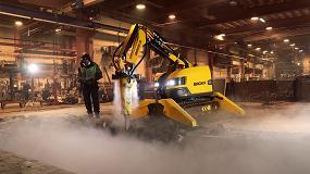 Foto de Brokk presenta un sistema de nebulización de agua atomizada para mejorar la seguridad en la obra