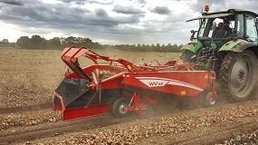 Foto de Grimme presenta la serie WV de hileradoras de hortalizas con tres anchuras de trabajo