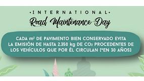 Foto de Asefma organiza una jornada técnica online con motivo del Día Internacional de la Conservación de Carreteras IRMD2020