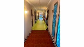 Foto de Adaptación en tiempo récord para convertir hoteles en hospitales con materiales fáciles de desinfectar