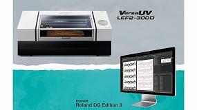 Foto de Roland DG lanza la nueva VersaUV LEF2-300D y la última versión del software Ergosoft Roland Edition 3