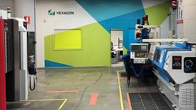Foto de Hexagon refuerza su colaboración con el CFP de Manresa con la apertura de una nueva Aula de formación
