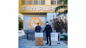 Foto de Aimplas diseña una mascarilla de filtros intercambiables