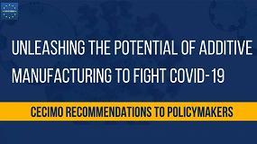 Foto de Cecimo llama a los políticos a potenciar la fabricación aditiva en la lucha contra el COVID-19