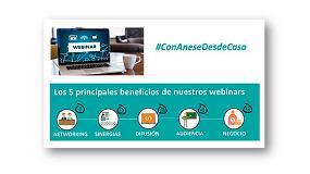 Foto de Anese crea el espacio #ConAneseDesdeCasa, una oportunidad de fomentar sinergias entre sus socios