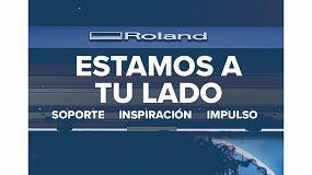 Foto de Estamos a tu lado: el compromiso de Roland DG de dar soporte, inspirar e impulsar a sus clientes
