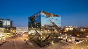 Foto de Guardian en el edificio Cube Berlín
