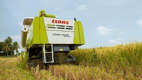 Foto de Claas alcanza las 10.000 cosechadoras de arroz Crop Tiger fabricadas en India