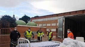 Foto de Transfesa Logistics transporta material sanitario de protección contra el COVID-19
