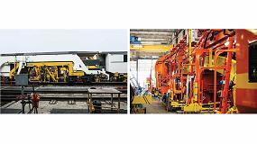 Foto de Matisa aplica las soluciones de soldadura Fronius en sus trabajos en el sector ferroviario