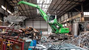 Foto de La empresa de reciclaje Menshen amplía su flota con dos nuevos manipuladores de materiales Sennebogen
