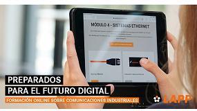 Foto de Lapp lanza una formación online sobre comunicaciones industriales