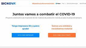 Foto de Portal 3D COVID-19 posibilita la fabricación de más de 100.000 EPI con impresoras 3D en toda España
