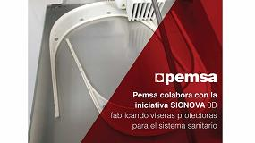 Foto de Pemsa se une a la iniciativa de Sicnova 3D fabricando viseras protectoras