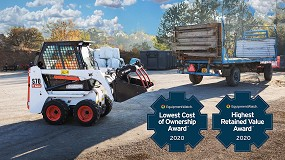 Foto de Las cargadoras Bobcat celebran sus victorias consecutivas en los premios LCO y HRV de 2020