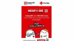 Foto de Ferreterías Cadena88 se suma al plan 'Cruz Roja Responde' contra el COVID-19