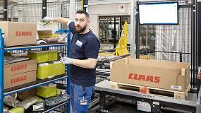 Foto de 490 empleados aseguran la disponibilidad de recambios Claas