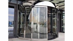 Foto de Erreka desarrolla puertas giratorias para reducir el consumo en los edificios